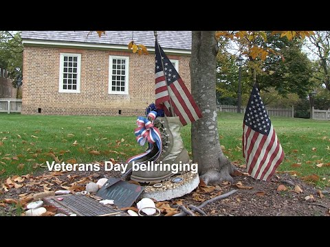 Veterans Day bellringing