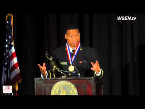 Keenan Reynolds - Co-winner AAU Sullivan Award