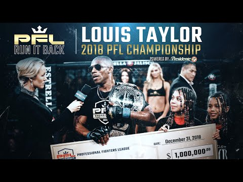 Louis Taylor & Belal Muhammad Relive 2018 Championship Fight | PFL Run It Back Ep. 5