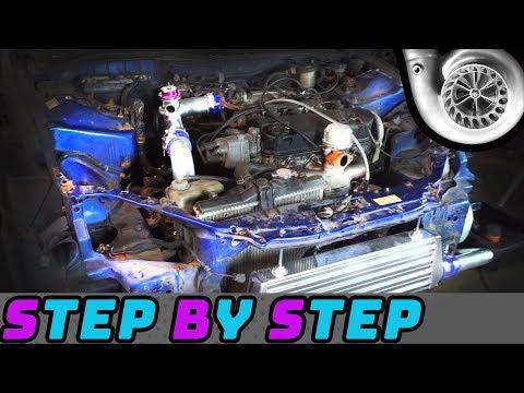 How To Install A Turbo Kit – Honda Civic, Integra, Del Sol