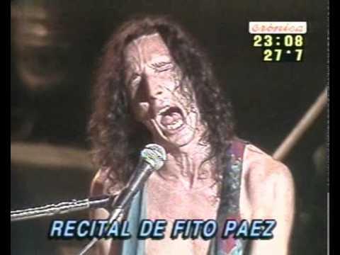 Fito Paez - Concierto en Gran Rex - Completo - 1990