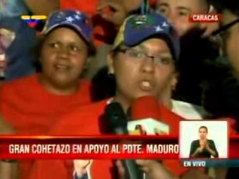 Celebran con cohetazo y música revolucionaria en Catia, plaza Bolívar y la sede de VTV