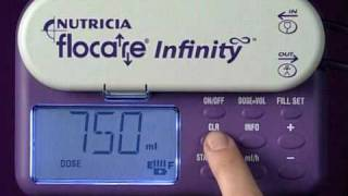 Flocare Infinity Enteral Feeding Pump - Programming
