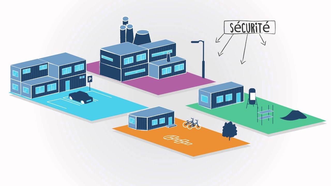algeco leader de la construction modulaire youtube. Black Bedroom Furniture Sets. Home Design Ideas