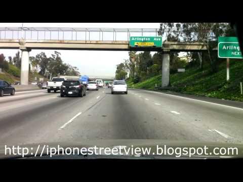 iPhoneStreetView - Culver City para Koreatown, Los Angeles