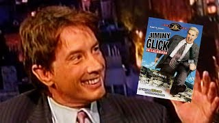 """Martin Short Promoting """"Jiminy Glick in Lalawood"""" on Letterman - May 25, 2005"""