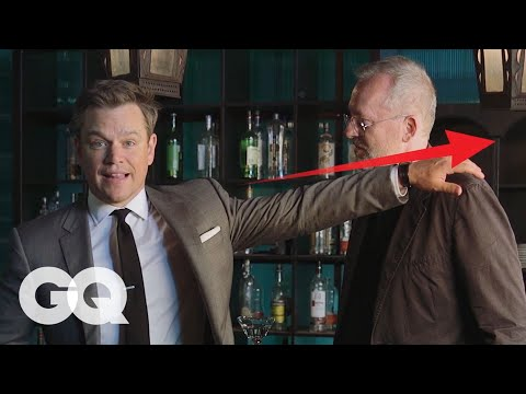 Matt Damon Teaches You How to Win a Bar Fight | GQ