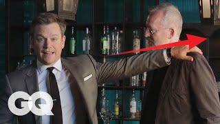 Matt Damon Teaches You How to Win a Bar Fight | GQ