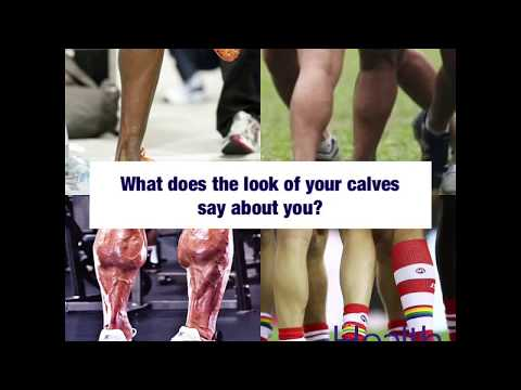 What does the look of your calves say about you? | Melbourne Sports Chiropractor