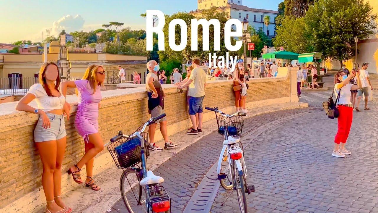 Download Rome, Italy 🇮🇹 - Evening Walk - September 2021 - 4K-HDR Walking Tour (▶103min)
