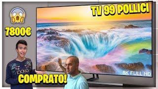 COMPRO una TV SAMSUNG da 99 POLLICI e MIO PAPÀ SCLERA! ASSURDO!