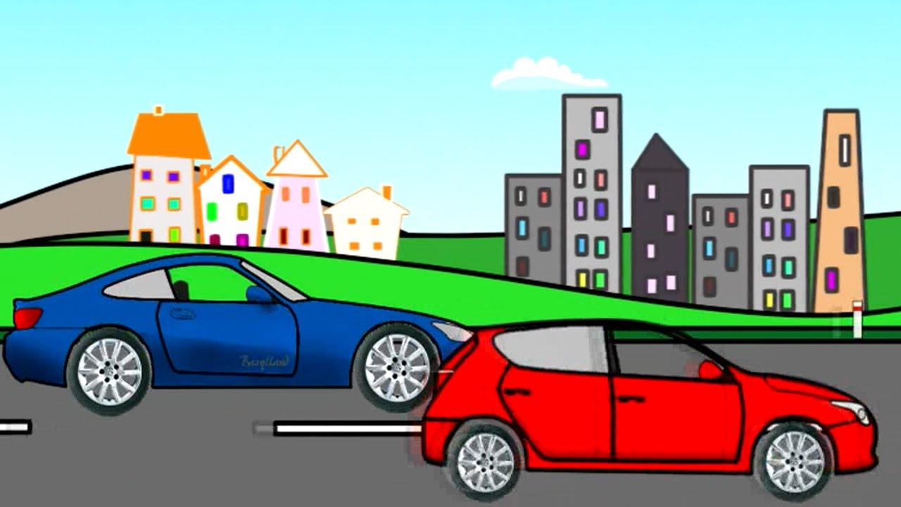 Bajki Dla Dzieci Montaż Auta Kolory I Kształty Auto Assembly Carls