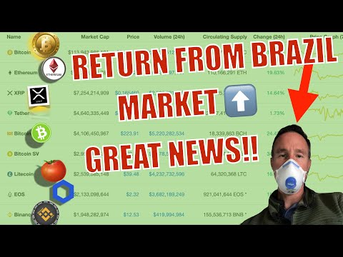 📍BREAKING NEWS! I'm BACK From BRAZIL! Bitcoin BTC & Crypto Market is STRONG! Fed Printing 💰+ TAXES!