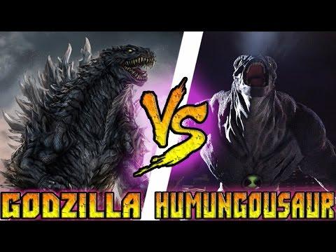 Годзилла Vs Гумангозавр (BEN 10) - Кто кого? [bezdarno]
