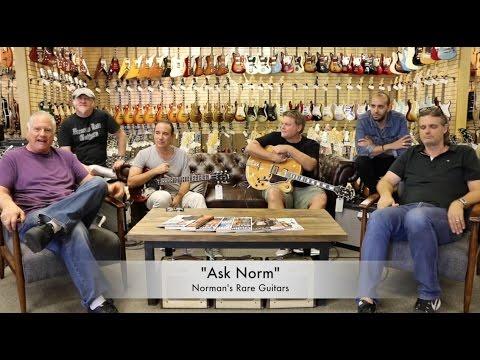 "Norman's Rare Guitars - ""Ask Norm"" Episode 12 Guest: Jason Sinay, Paul & Val McCallum"
