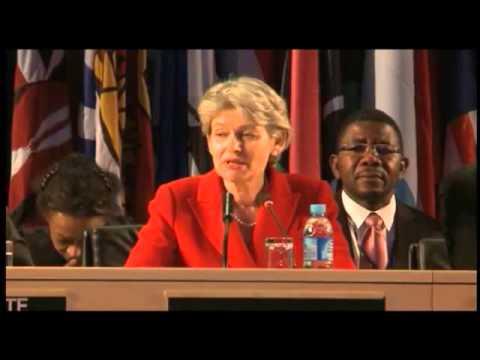 Elección de Irina Bokova como Directora General de la UNESCO (subtitulado)
