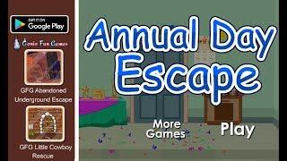 GFG Annual Day Escape Walkthrough [GenieFunGames]