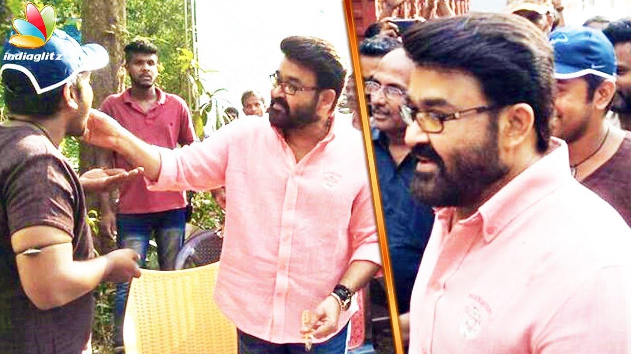 ലാലേട്ടൻ എത്തി ഇത്തിക്കരപ്പക്കിയാകാൻ   Mohanlal starts shooting for 'Kayamkulam Kochunni'   Nivin