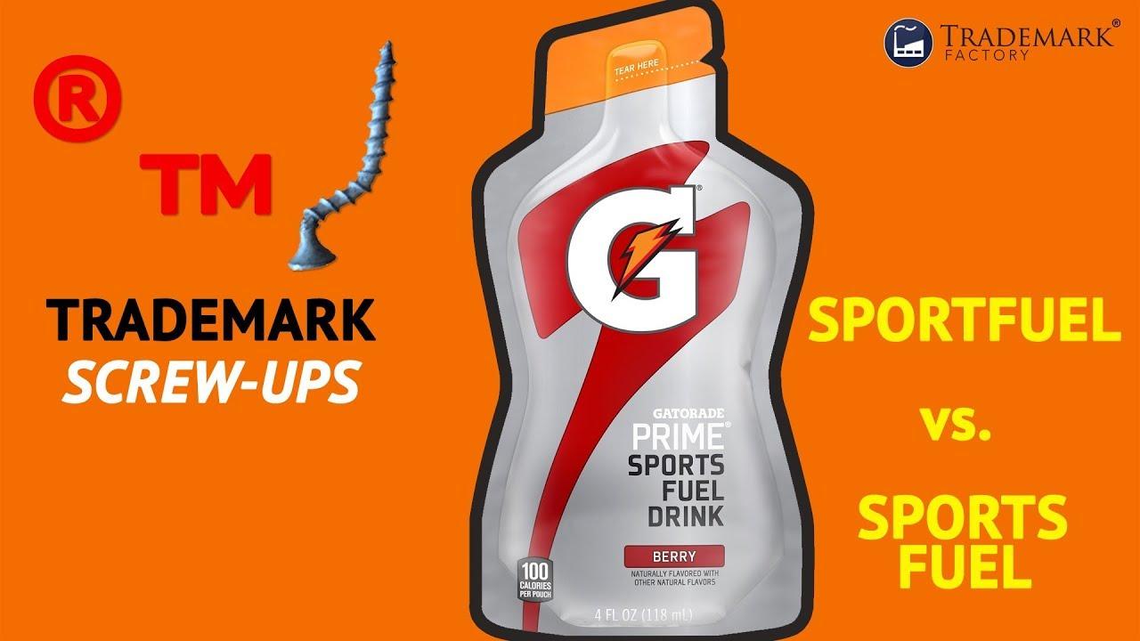 Sportfuel vs  Sports Fuel | Trademark Screw-Ups - Ep  012
