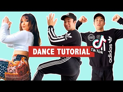 Tisakorean's WURK TikTok DANCE CHALLENGE TUTORIAL | Learn how to do Tik Tok Dances