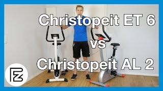 Christopeit ET 6 vs Christopeit AL 2 - Ergometer im Vergleich