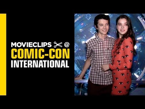 Comic-Con Ender's Game: Asa Butterfield Tours Ender's Experience 2013 - HD