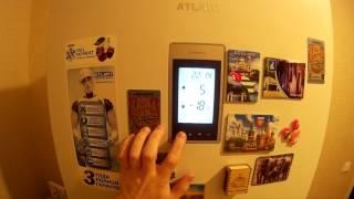 Налаштування температури у відділеннях холодильника АТЛАНТ ХМ-4421-009-ND