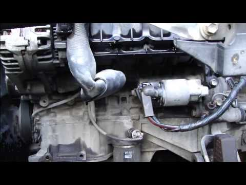 How to fix starter motor connection error Toyota Corolla Years 2000 - 2008