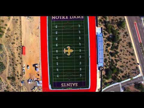 Notre Dame Preparatory School's new football fieldThe Mark Taylor Team