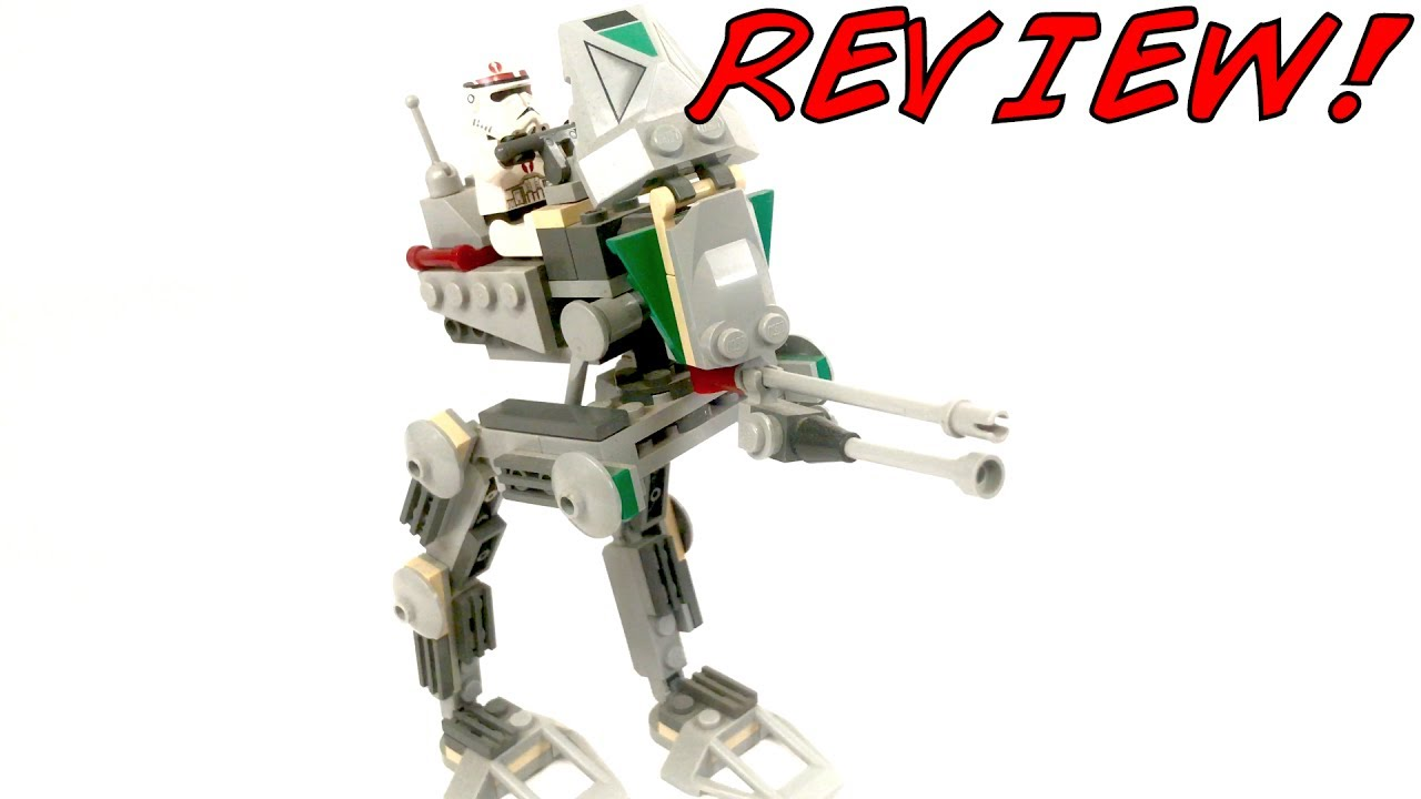 Lego Star Wars Clone Scout Walker Review Lego 7520 Review 2005 Set