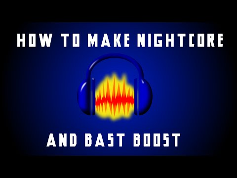 How To Make Nightcore and Bass Boost With Audacity! (Best Method)