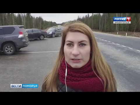 В Плесецком районе открыли третий участок трассы Брин-Наволок-Плесецк-Каргополь