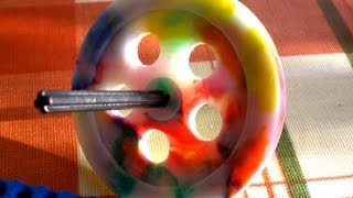 Making A Pulley Wheel From Recycled HDPE