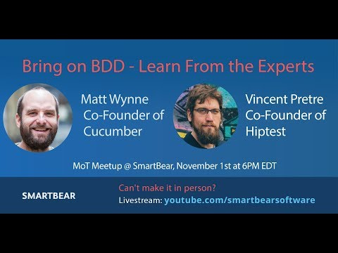 Bring on BDD - Learn From the Experts