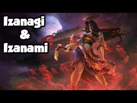 The Izanagi & Izanami - The Japanese Creation Myth (Japanese Mythology Explained)