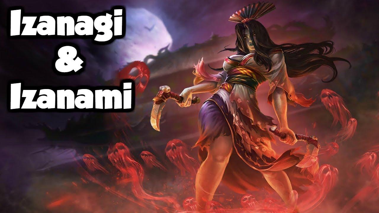 the izanagi amp izanami the japanese creation myth