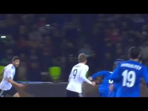 Andre Schurrle Second Goal  Azerbaijan 1 - 4 Germany 26/03/2017