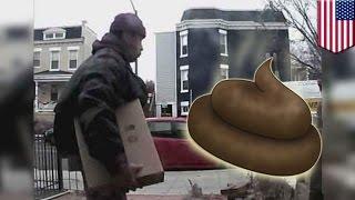 Владелица дома расставила для воров ловушку из собачьих какашек