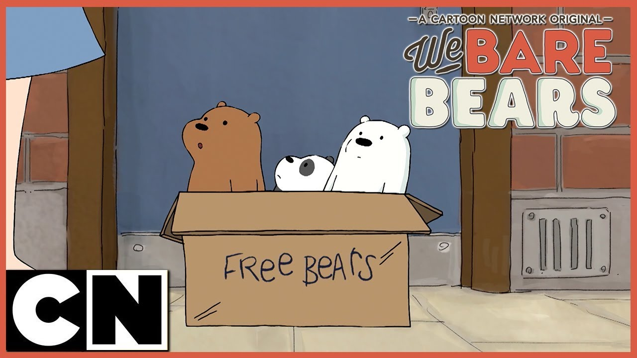 We Bare Bears Masa Kamar Mandi Cartoon Network Bahasa Indonesia Youtube