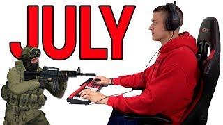 PC Gaming Playback -- July 2018 (Monthly PC Gaming Recap)