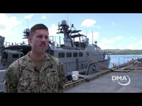 Navy Adds Mark VI Patrol Boats to Guam (B-Roll)