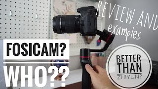 Fosicam 3 Axis Gimbal - REVIEW & TEST