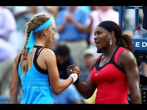 Serena Williams Vs Victoria Azarenka 2011 US Open Highlights