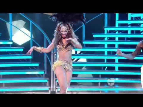Karol le quitó el puesto a Shakira, ¡así movió las caderas! NBL 2016 thumbnail