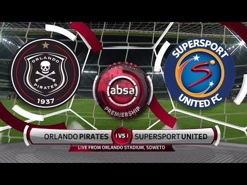 Absa Premiership 2018/19 | Orlando Pirates vs SuperSport United