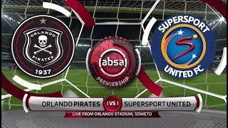 Absa Premiership 2018/19 | Orlando Pirates vs SuperSport United