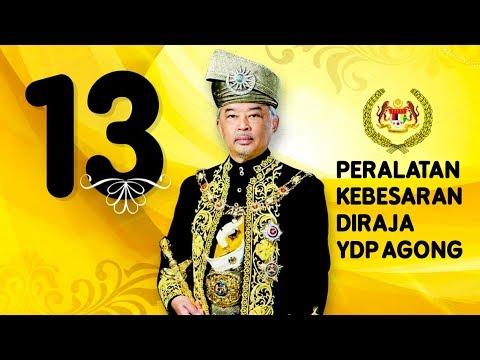 Kisah Ydp Agong Al Sultan Abdullah 13 Alat Alat Kebesaran Diraja Youtube