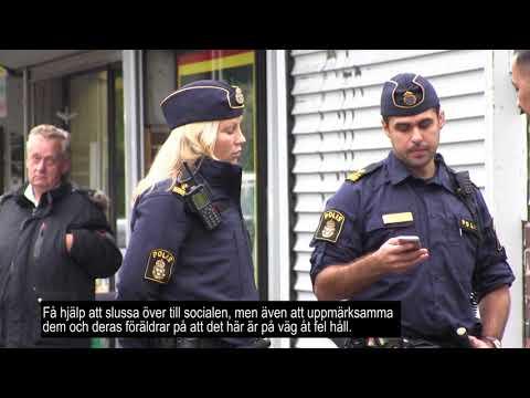 Häng  med områdespolisen i Malmö