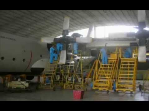 Sri Lanka Air Force - Heavy Transport Air Crafts - C130 Hercules, Antanov.