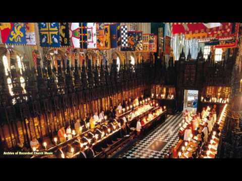 BBC Choral Evensong: St George's Chapel Windsor 1988 (Christopher Robinson)